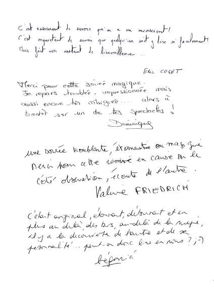 Critiques conference Orange par le magicien mentaliste Xavier Nicolas (2)