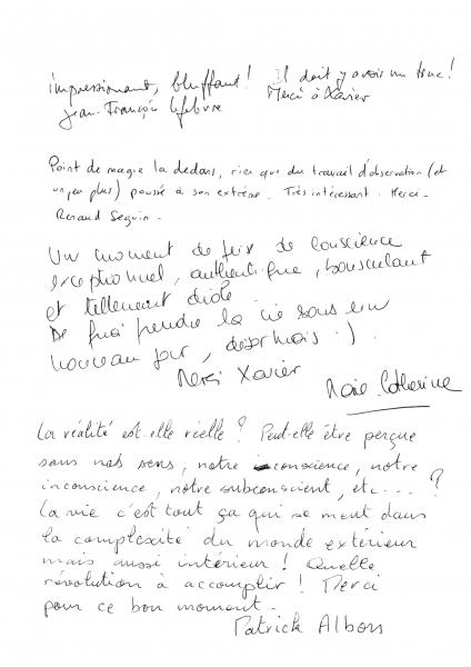 Critiques conference Orange par le magicien mentaliste Xavier Nicolas (3)
